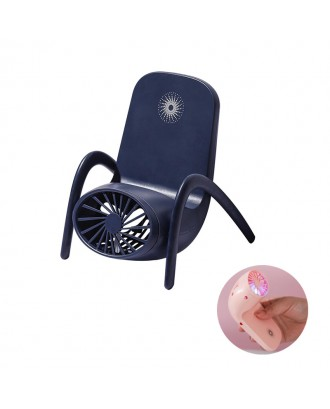 Wind Speed Adjustable Fan with Mobile Phone Stand