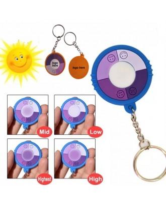 UV Test Keychain