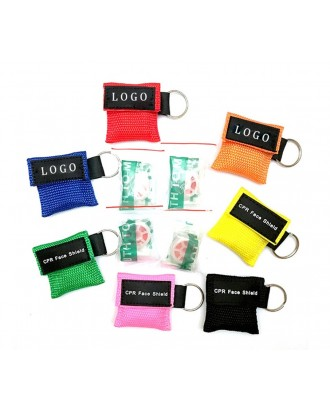 CPR Face Shield Mask Keychain