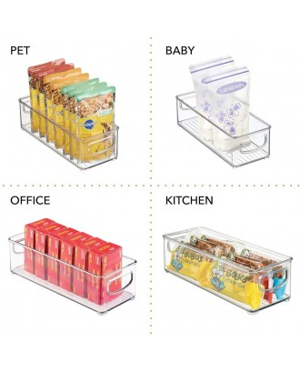 Simple Gourmet Refrigerator Organizer Storage Bins