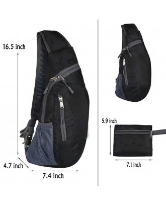 Foldable Sling Bags / Shoulder Chest Backpack