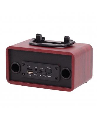 Portable Wood Bluetooth Speakers