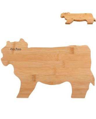 Cow Shaped Bamboo Cutting Board