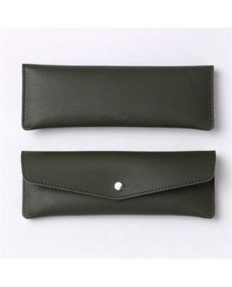 Multi-functional PU Leather Pencil Case