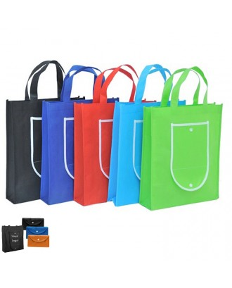 80gsm Non Woven Folding Tote / Grocery Bag