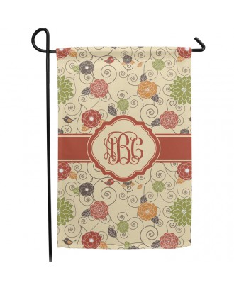 Double Sided Garden Flag Without Pole