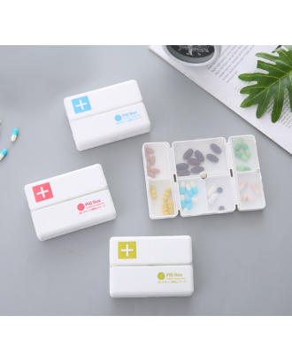 7-Day Compartments Pill Organizer Box
