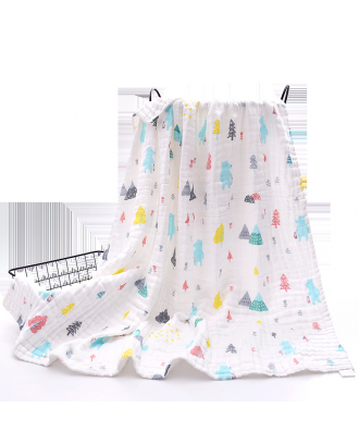 Cotton Muslin Baby Swaddle Blanket