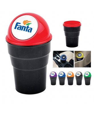 Automotive Cup Holder Garbage Can / Trash Bin