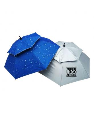 Double Layer Folding Umbrella Hat