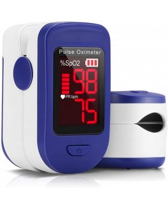 Pulse Oximeter Fingertip, Blood Oxygen Saturation Monitor for Pulse Rate