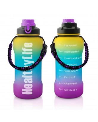 Sport Bottle With Paracord Survival Handle